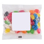 Assorted Colour Mini Jelly Beans in 50 Gram Cello Bag_52579
