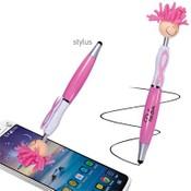 Mop Top Awareness Ribbon Ballpoint Pen / Stylus
