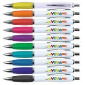 Viva Ballpoint Pen – White Barrel