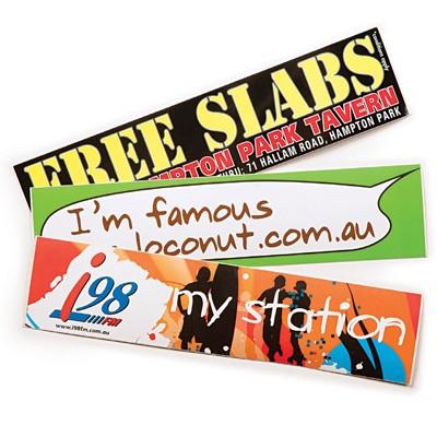 Gloss Paper Sticker (50 x 210mm)