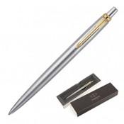 Parker Jotter Ballpoint Pen – Brushed Stainless GT