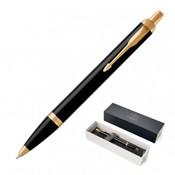 Parker IM Ballpoint Pen – Lacquer Black GT